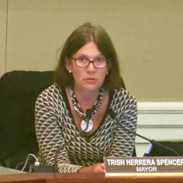 Former Alameda Mayor Trish Herrera Spencer