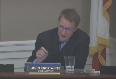 Knox White John council mtg