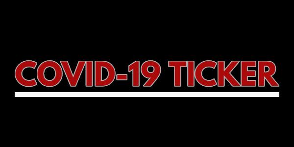 COVID19 ticker graphic