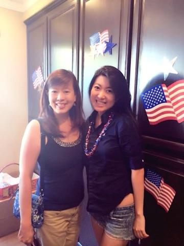 未来的弗里蒙特市长、时任议员Lily Mei和方芳